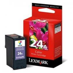 Lexmark - 18C1624 - Lexmark #24A Color Ink Cartridge - Inkjet - Color