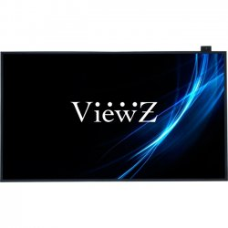 ViewZ - VZ-55NL - ViewZ VZ-55NL 55 LCD Monitor - 16:9 - 8 ms - 1920 x 1080 - 16.7 Million Colors - 700 Nit - 4,000:1 - Full HD - Speakers - DVI - HDMI - VGA - 300 W - Black - RoHS