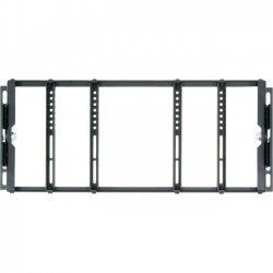 ViewZ - VZ-RMK08 - ViewZ VZ-RMK08 Rack Mount for Flat Panel Display - 8 to 20 Screen Support - 20.40 lb Load Capacity - Black