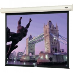Da-Lite - 20892 - Da-Lite Cosmopolitan Electrol Electric Projection Screen - 12 - 16:10 - Wall Mount, Ceiling Mount - 65 x 104 - Matte White