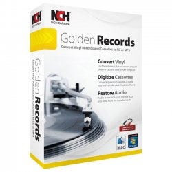 NCH Software - RET-GR001 - NCH Software Golden Records - Utility - DVD-ROM - English, Spanish - PC, Mac