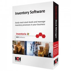 NCH Software - RET-INVW001 - NCH Software Inventoria - Inventory Management - Retail - CD-ROM - English, Spanish - PC
