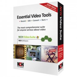 NCH Software - RET-VIDW001 - NCH Software Video Essentials - Video Editing - PC - English, Spanish