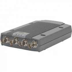 Axis Communication - 0417-004 - AXIS P7214 Video Encoder - Functions: Video Encoding, Video Streaming - 512 MB - 720 x 576 - PAL, NTSC - Audio Line In - Audio Line Out