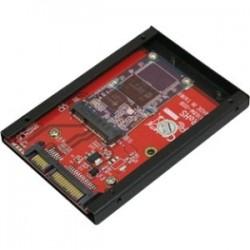 Addonics Technologies - AD25MSD - Addonics AD25MSD Drive Enclosure - 1 x Total Bay - 1 x 2.5 Bay - Serial ATA