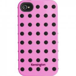 Kensington - K39392US - Kensington Combination iPhone Case - iPhone - Pink, Black - Polka Dot - Rubber