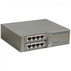 Omnitron - 6550-0-FK - Omnitron Systems FlexSwitch 6550-FK Switch Chassis - 5 x 10/100Base-TX, 1 x 100Base-FX