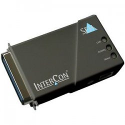 SEH Technology - M04422 - SEH PS105 Print Server - 1 x 10/100Base-TX Network, 1 x Parallel - 10Mbps, 100Mbps
