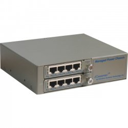Omnitron - 6500-FK - Omnitron Systems FlexSwitch 6500-FK Managed Ethernet Switch - 2 x Expansion Slot - 8 x 10/100Base-TX