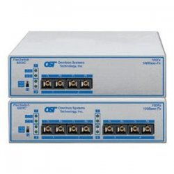 Omnitron - 6530-0-FK - Omnitron Systems FlexSwitch 600XC 4Fx Fast Ethernet Compact Switch - 4 x 100Base-LX