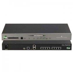 Digi International - 70002268 - Digi Passport 8-Port Console Server with Modem - 8 x RJ-45 , 2 x RJ-45 , 1 x RJ-11 , 1 x