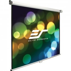 Elite Screens - M120X - Elite Screens Manual M120X Manual Projection Screen - 120 - 16:10 - Wall/Ceiling Mount - 63.6 x 101.8 - MaxWhite B
