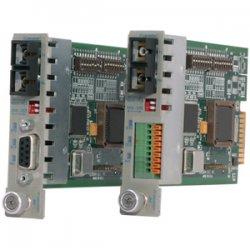 Omnitron - 8762-0 - iConverter RS-232 Serial Fiber Media Converter DB-9 SC Multimode 5km Module - 1 x RS-232; 1 x SC Multimode; Internal Module; Lifetime Warranty