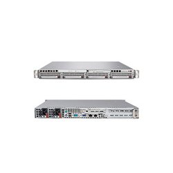 Supermicro - SYS-6015B-URV - Supermicro SuperServer 6015B-URV Barebone System - Intel 5000P - LGA771 Socket - Xeon (Quad-core), Xeon (Dual-core) - 1333MHz, 1066MHz, 667MHz Bus Speed - 32GB Memory Support - DVD-Reader (DVD-ROM) - Gigabit Ethernet - 1U Rack