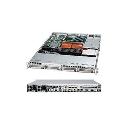 Supermicro - CSE-815TQ-R650B - Supermicro SC815TQ-R650B Chassis - Rack-mountable - Black