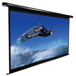 "Elite Screens - VMAX136UWS2 - Elite Screens VMAX136UWS2 VMAX2 Ceiling/Wall Mount Electric Projection Screen (136"" 1:1 Aspect Ratio) (MaxWhite) - 96"" x 96"" - MaxWhite - 136"" Diagonal"