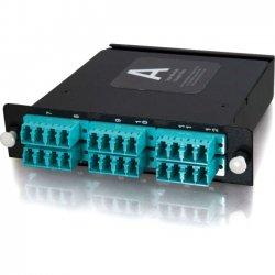 C2G (Cables To Go) - 39136 - C2G Q-Series 24-Strand MTP-LC LOMM 50/125 Module - 24 x MTP - 24 Port(s) - 24 x RJ-11 - 24 x MT Port(s)