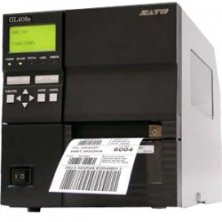 Sato - WWGL08001 - Sato GL408e Thermal Label Printer - Monochrome - 10 in/s Mono - 203 dpi - Serial, Parallel, USB