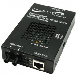 Transition Networks - E-100BTX-FX-05(XLW) - Transition Networks Fast Ethernet Media Converter - 1 x RJ-45 , 1 x SC Duplex - 100Base-TX, 100Base-FX