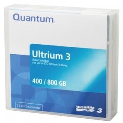 Quantum - MR-L3MQN-BC - Quantum LTO Ultrium 3 Prelabeled Tape Cartridge - LTO Ultrium LTO-3 - 400GB (Native) / 800GB (Compressed)