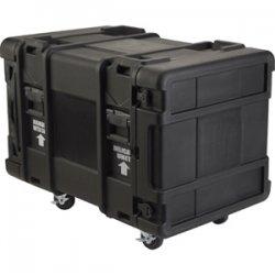 "SKB Cases - 3SKB-R910U30 - SKB 10U Roto Shock Rack - Internal Dimensions: 19"" Width x 34.50"" Depth x 17.50"" Height - 43.18 gal - Hinged, Latching Closure - Stackable - Polyethylene - Black - For Rack Device"