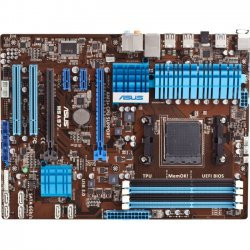 Asus - M5A97 R2.0 - Asus M5A97 R2.0 Desktop Motherboard - AMD Chipset - Socket AM3+ - ATX - 1 x Processor Support - 32 GB DDR3 SDRAM Maximum RAM - O.C., 1.87 GHz Memory Speed Supported - 4 x Memory Slots - Serial ATA/600 RAID Supported Controller - 2 x