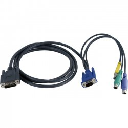 Avocent - SCPS2-C6 - Avocent KVM Cable - mini-DIN (PS/2) - 6ft