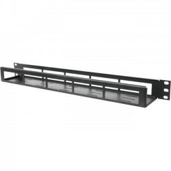 "Rack Solution - 1UCROSSBAR-120 - Innovation Horizontal Cable Management Tray - Cable Management Tray - 1U Rack Height - 19"" Panel Width"