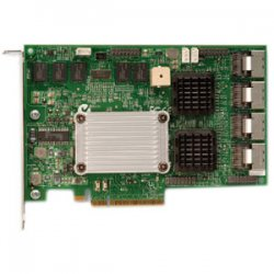 LSI Logic - LSI00137 - LSI Logic MegaRAID SAS 84016E 16 Port Controller - 256MB DDR2 - PCI Express x8 - Up to 300MBps Per Port - 4 x SFF-8087 SAS 300 - Serial Attached SCSI Internal