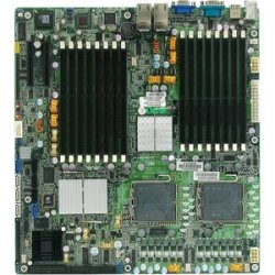 Tyan Computer - S5383G2NR - Tyan Tempest (S5383) Server Motherboard - Intel Chipset - Socket J LGA-771 - 2 x Processor Support - 64 GB - 667 MHz Memory Speed Supported - Floppy Controller, Serial Attached SCSI (SAS), Serial ATA/300, Ultra ATA - On-board