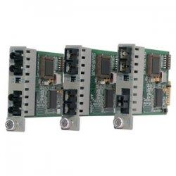 Omnitron - 8443-1 - Omnitron Systems iConverter 2Fx Transceiver - 2 x SC Duplex - 100Base-FX