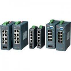 Lantronix - X92012011-01 - Lantronix XPress-Pro 92012F 8-Port Ethernet Switch - 8 x 10/100Base-TX, 1 x 100Base-FX
