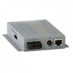 Omnitron - 8901-1-W - Omnitron Systems iConverter 10/100M Media Converter and Network Interface Device - 1 x RJ-45 , 1 x ST Duplex - 10/100Base-TX, 100Base-FX