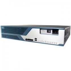 Cisco - CISCO3825-V/K9-RF - Cisco 3825 Voice Bundle - 2 x AIM, 4 x PVDM - 2 x 10/100/1000Base-T LAN, 2 x USB