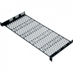 Middle Atlantic Products - UFA-8 - Middle Atlantic Products UFA Rack Shelf - 1U Wide Rack-mountable - 35 lb x Maximum Weight Capacity