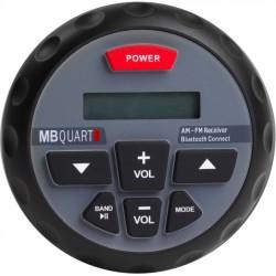 Maxxsonics - GMR-1 - MB QUART Nautic GMR-1 Marine Flash Audio Player - 80 W RMS - iPod/iPhone Compatible - Black - MP3, WMA - AM, FM - Bluetooth - USB - Auxiliary Input