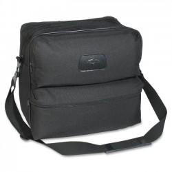 Medline - VTG6166 - Medline Carrying Case for Medical Equipment - Black - Polyester, Vinyl Interior - Shoulder Strap - 13 Height x 12 Width x 7 Depth