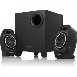 Creative Labs - 51MF0420AA002 - Creative SBS Series A250 2.1 Speaker System - 9 W RMS - Black