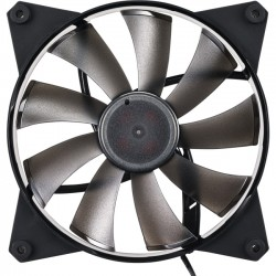 Cooler Master - MFY-F4NN-08NMK-R1 - Cooler Master MasterFan Pro 140 Air Flow - 140 mm - 1600 rpm106 CFM - 36 dB(A) Noise - POM Bearing - 4-pin PWM - 55.9 Year Life