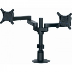 Middle Atlantic Products - MMB2X1 - Middle Atlantic Products Mounting Arm for Flat Panel Display - 22 Screen Support - 25 lb Load Capacity - Black