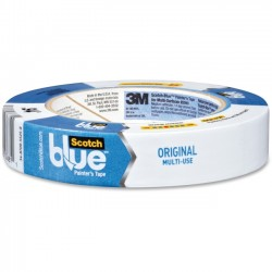 3M - 209024A - ScotchBlue Blue Multi-Surf Painter's Tape - 0.94 Width x 60 yd Length - 3 Core - Rubber Resin - Rubber Backing - Adhesive, Residue-free - 1 Roll - Blue