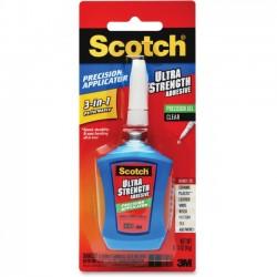 3M - ADH670 - Scotch Ultra Strength Adhesive, 0.14 oz - 14 oz - 1 Each - Clear