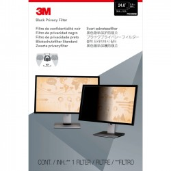 3M - PF24.0W9 - 3M PF24.0W9 Privacy Filter for Widescreen Desktop LCD Monitor 24.0 - For 24Monitor