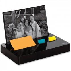 3M - PH100BK - Post-it Pop-up Note and Flag Dispenser, Photo Frame, Black - Desktop - Black - 1Each