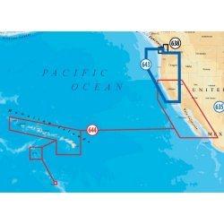 Navionics - MSD/643P+ - Navionics Platinum Plus Oregon and California Digital Marine Map - North America - United States - California, Washington, Oregon - Los Angeles - Columbia River - Fishing