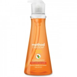 Method - 00735CT - Method Clementine Dish Soap - 0.14 gal (18 fl oz) - Clementine Scent - 6 / Carton - Orange