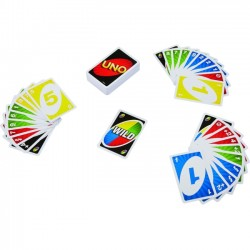 Mattel - 42003 - Mattel UNO Card Game - Classic Card Game - Great Group Game - Fast Fun for Everyone.