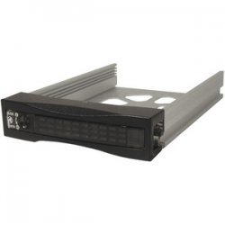 "CRU / Wiebetech - 6681-5000-0500 - CRU RhinoJR 400 SATA II Carrier - 1 x 3.5"" - 1/3H Internal - Internal - Black"