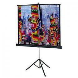 "Da-Lite - 90618 - Da-Lite Versatol Portable and Tripod Projection Screen - 60"" x 80"" - Matte Silver - 100"" Diagonal"