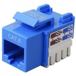 Belkin / Linksys - R6D026-AB6BLU25 - Belkin Integration Series - Modular insert - RJ-45 - blue (pack of 25 )